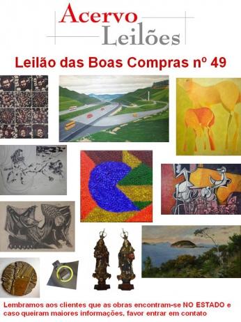 LEILÃO DAS BOAS COMPRAS nº 49 - 06/11/2015