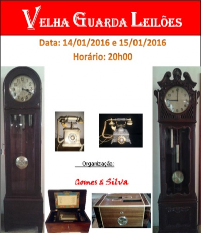 6º LEILÃO VELHA GUARDA LEILÕES - Arte, Antiguidades, Decoração e Colecionismo