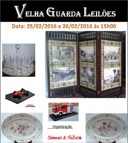 8º LEILÃO VELHA GUARDA LEILÕES - Arte, Antiguidades, Decoração, Colecionismo