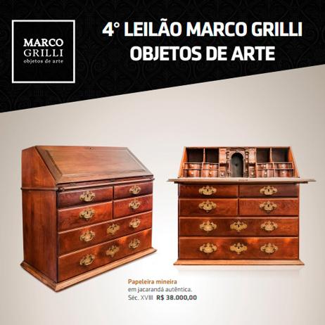 QUARTO LEILÃO MARCO GRILLI - objetos de arte  -  (31) 3275-4461 | (31) 99957-9043