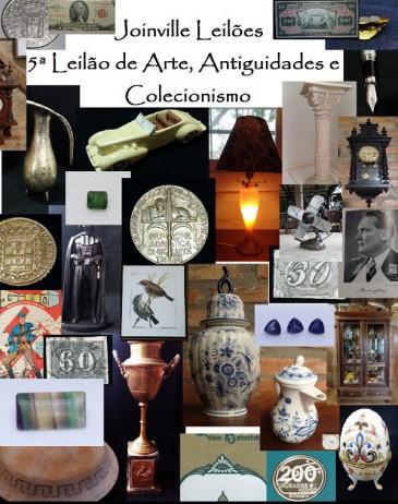 5ª Leilão de Arte, Antiguidades e Colecionismo de Joinville