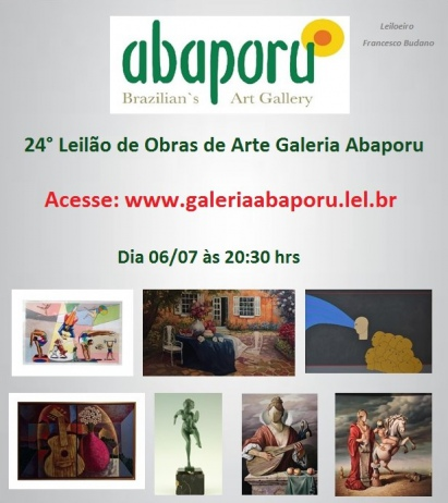 24º LEILÃO DA ABAPORU BRAZILIANS ART GALLERY