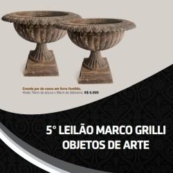 QUINTO LEILÃO MARCO GRILLI - OBJETOS DE ARTE - (31) 3275-4461 | 99957-9043