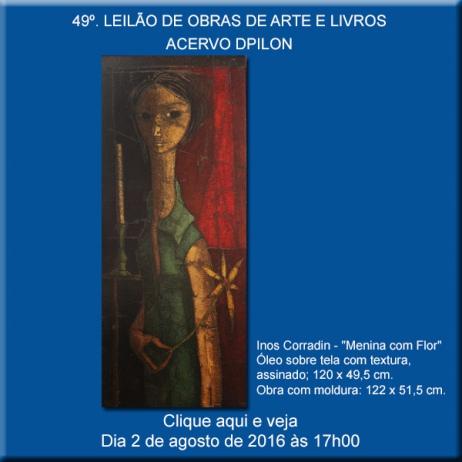 49º LEILÃO DE OBRAS DE ARTE E LIVROS - Acervo DPilon