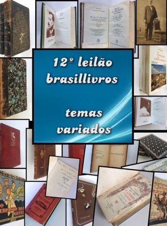 12º leilão brasillivros