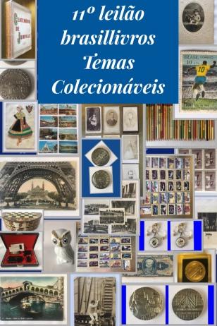 11º leilão brasillivros - temas colecionáveis