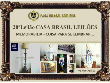 20º LEILÃO CASA BRASIL LEILÕES - MEMORABILIA