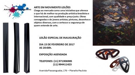 LEILÃO ESPECIAL DE INAUGURAÇÃO