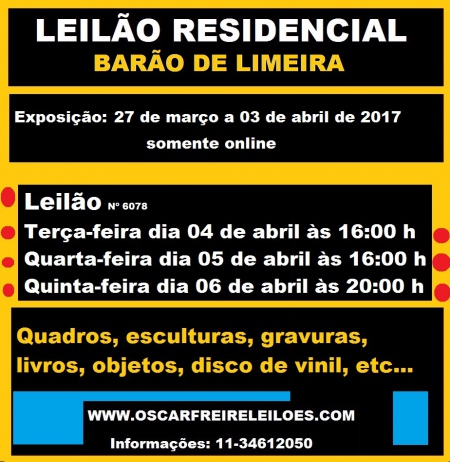 LEILÃO RESIDENCIAL BARÃO DE LIMEIRA