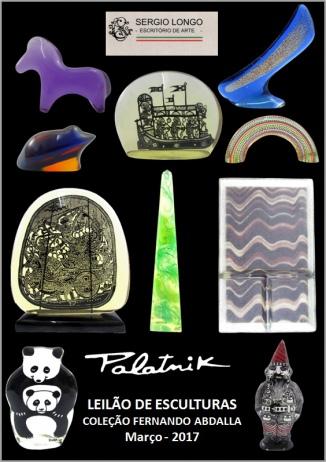PALATNIK - LEILÃO DE ESCULTURAS (Coleção Fernando Abdalla)