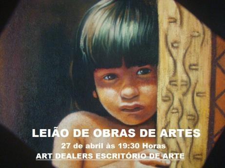 LEILÃO DE OBRAS DE ARTES, LIVROS E AFINS