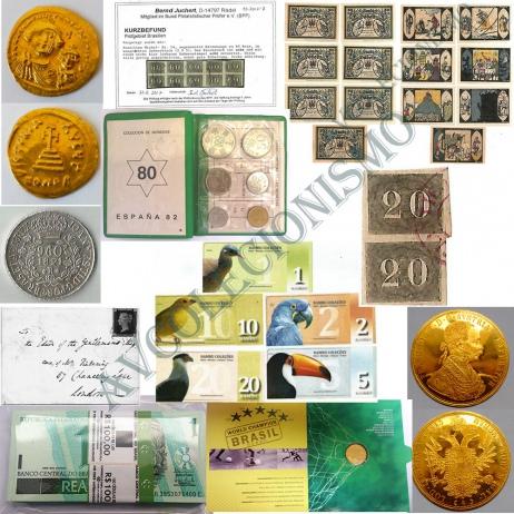 3º Leilão de Filatelia e Numismática e Outros - AV COLECIONISMO
