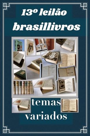 13º leilão brasillivros