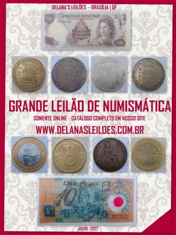 LEILÃO INVERNO 2017 - JÓIAS & NUMISMÁTICA