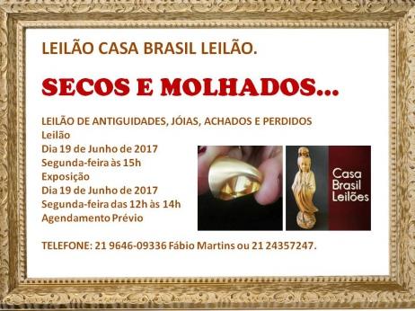 LEILÃO DE ARTE, JÓIAS E ANTIGUIDADES