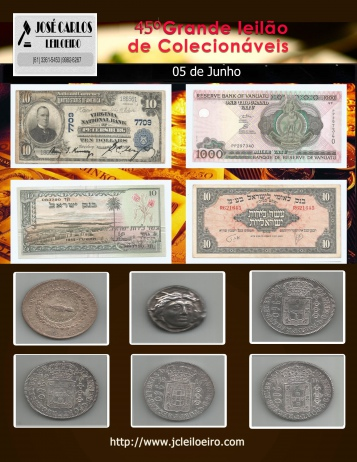 45º GRANDE LEILÃO DE COLECIONÁVEIS