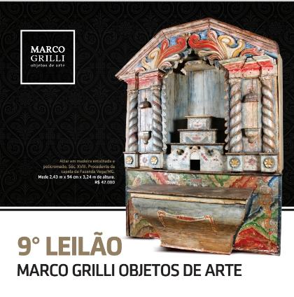 NONO LEILÃO MARCO GRILLI - objetos de arte