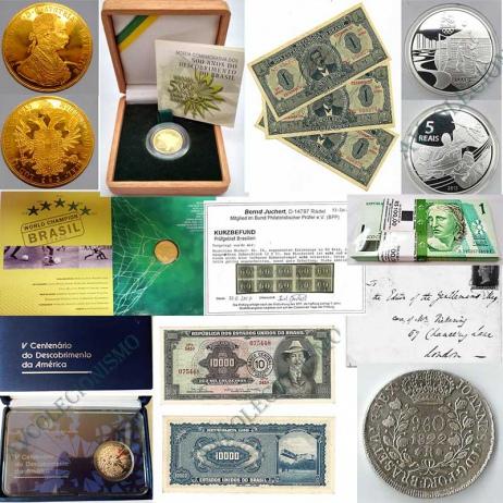 6º Leilão de Filatelia e Numismática e Outros - AV COLECIONISMO