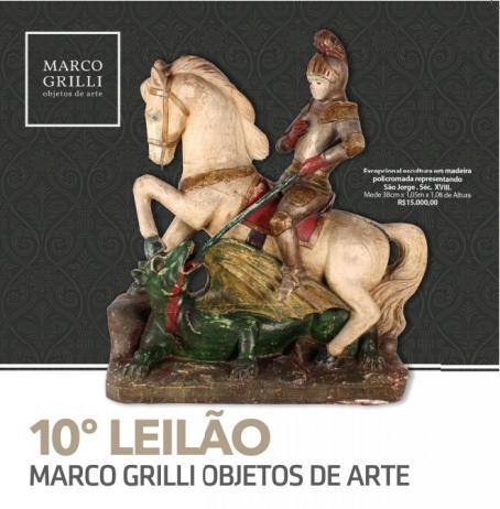 DÉCIMO LEILÃO MARCO GRILLI - objetos de arte