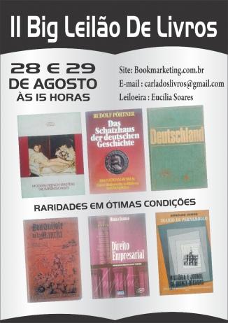 II LEILÃO DE LIVROS - BOOK MARKETING