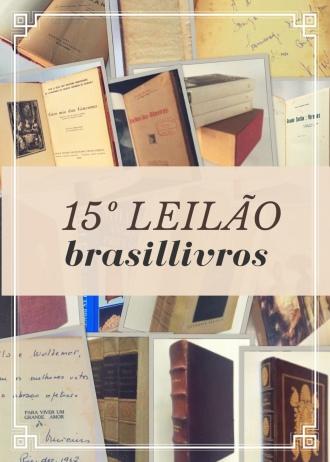 15º leilão brasillivros