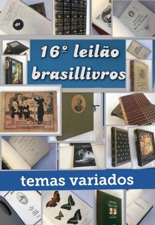 16º leilão brasillivros