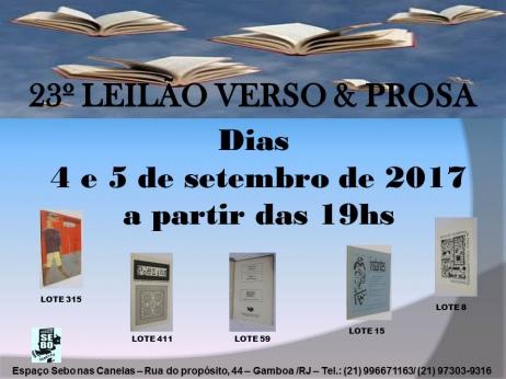 23º LEILÃO VERSO E PROSA - JORNAIS E PUBLICAÇÕES EFÊMERAS