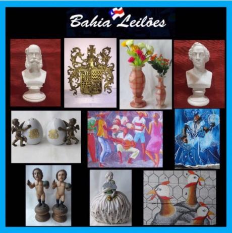 4º LEILÃO BON MARCHÉ -  Antiguidades, artes e peças de decoração