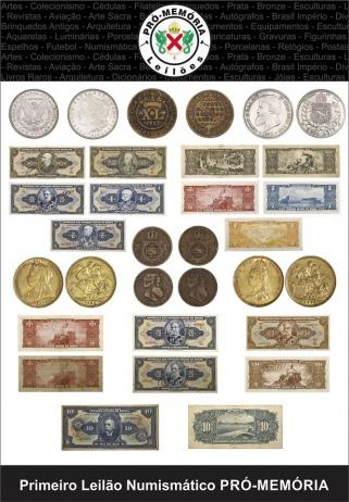 1º Leilão de Numismática Pró Memória