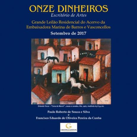 Grande Leilão Residencial do Acervo da Embaixadora Marina de Barros e Vasconcellos e outros.