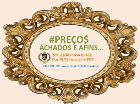 LEILÃO ACHADOS E AFINS.