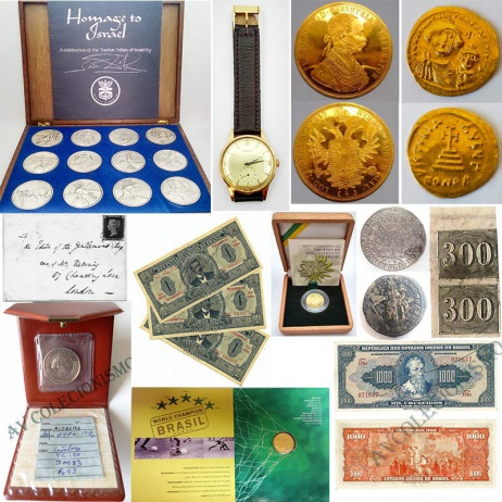 9º Leilão de Filatelia e Numismática e Outros - AV COLECIONISMO