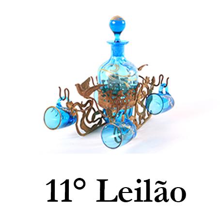 DÉCIMO PRIMEIRO LEILÃO MARCO GRILLI - objetos de arte