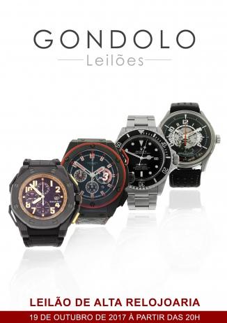 Leilão Gondolo de Alta Relojoaria