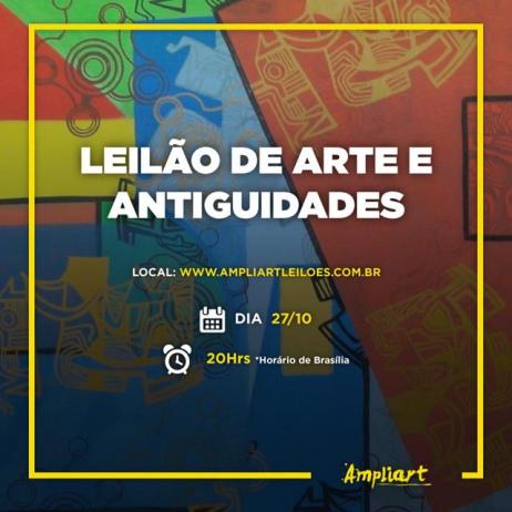 LEILÃO DE ARTE E ANTIGUIDADES