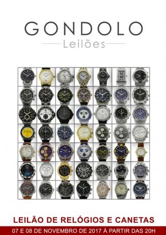 Leilão de Relógios e Canetas