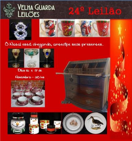 VELHA GUARDA LEILÕES - 24º Leilão de Antiguidades, Decoração e Colecionismo.
