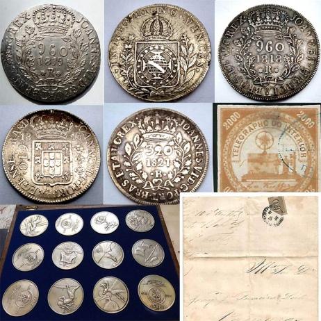 10º Leilão de Filatelia e Numismática - AV COLECIONISMO