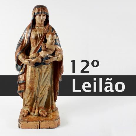 DÉCIMO SEGUNDO LEILÃO MARCO GRILLI - objetos de arte