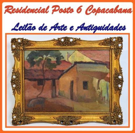 LEILÃO RESIDENCIAL POSTO 6 COPACABANA DE ARTE E ANTIGUIDADES