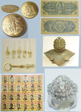 Leilão Hoje às 17:00 h de Numismática, Colecionismo e Jóias