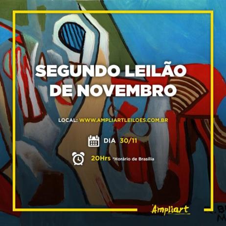 2º Leilão de Arte e Colecionismo de Novembro