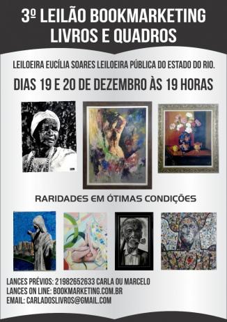 III LEILÃO BOOK MARKETING - LIVROS  E ARTES - TEL: (21)982652633