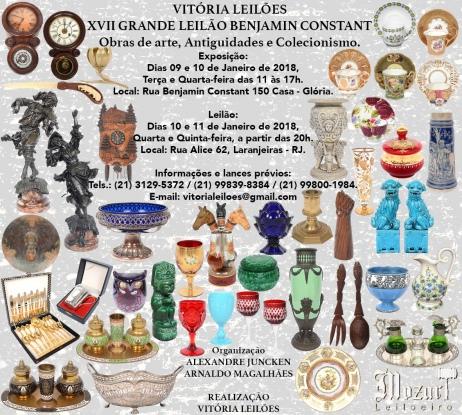 XVII GRANDE LEILÃO BENJAMIN CONSTANT