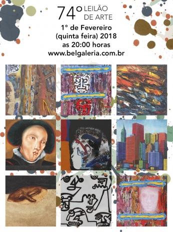 74º Leilão Bel Galeria de Arte