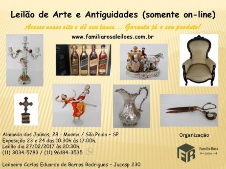 ARTE E ANTIGUIDADES