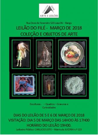 LEILÃO DO FILÉ - MARÇO DE 2018