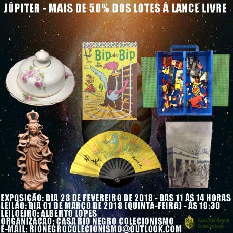 JÚPITER - MAIS DE 50% DOS LOTES À LANCE LIVRE