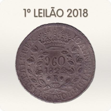 1º Leilão BRASIL MOEDAS 2018
