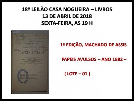 18º Leilão Casa Nogueira